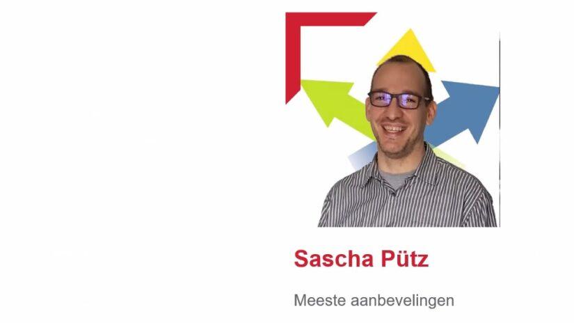 Sascha Pütz is netwerkleider