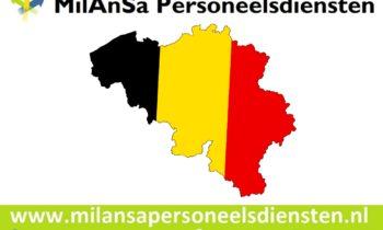 Uitzenden in België nu ook via MilAnSa Personeelsdiensten.